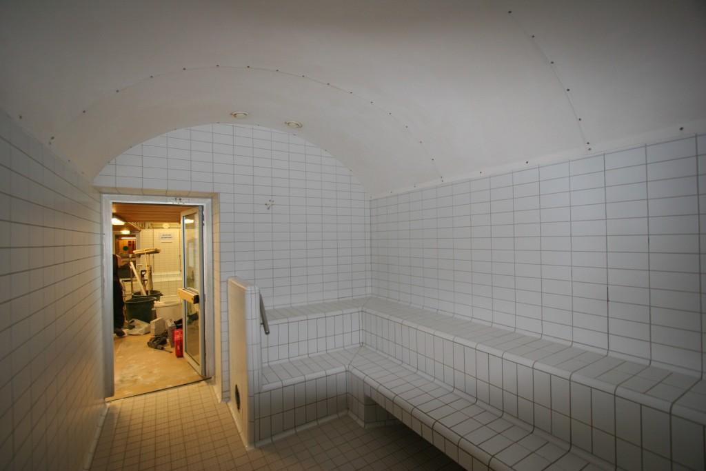 Malmin uimahallin sauna